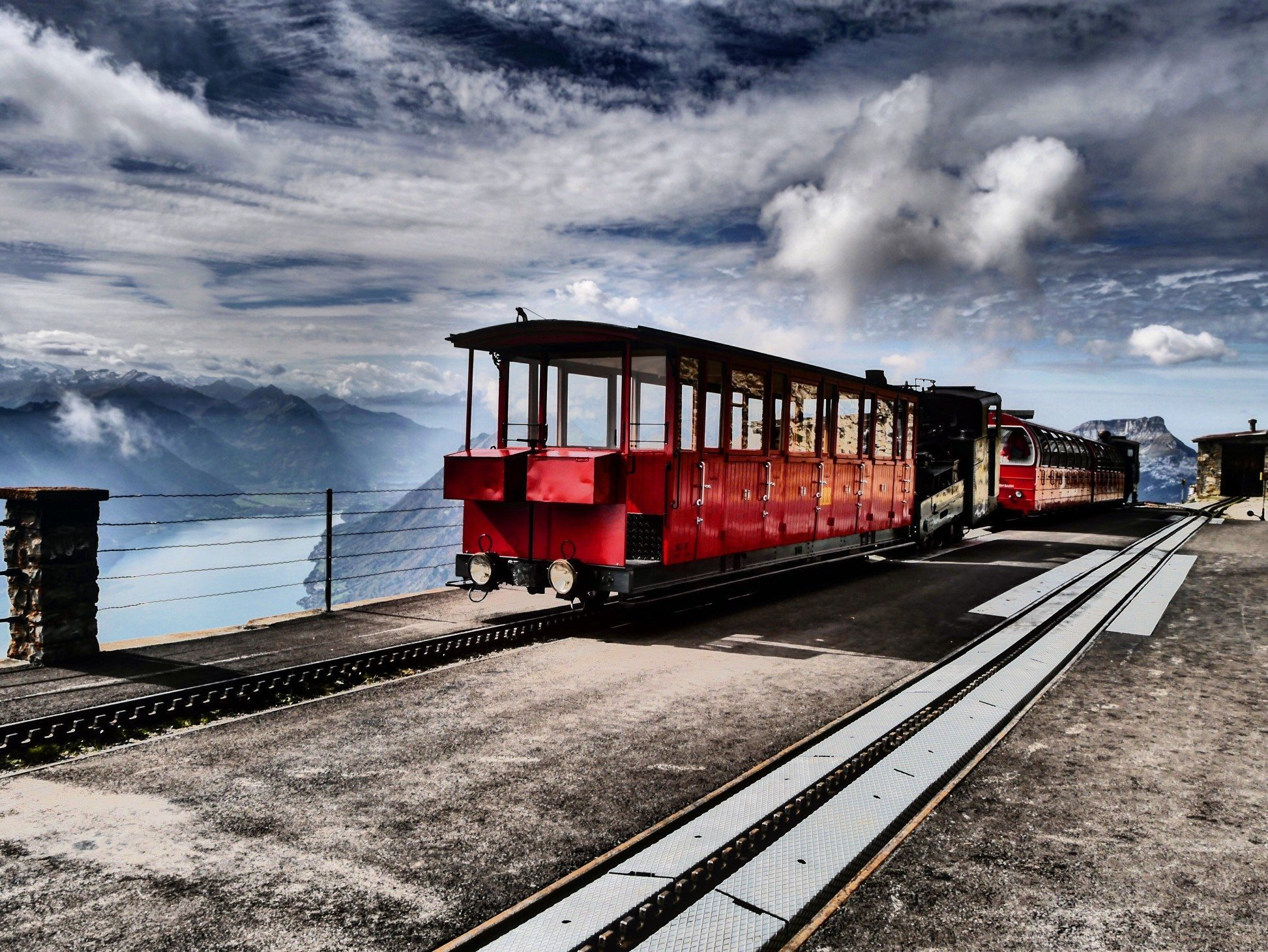 CONT.GALLERY rothorn end of railway 2244 m high brienz be switzerland t20 a76a2x